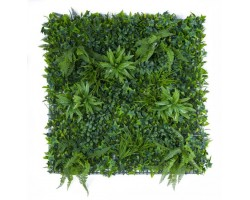Greenery Low Cost Resistente ai raggi UV - Mix Green - cm. 100x100