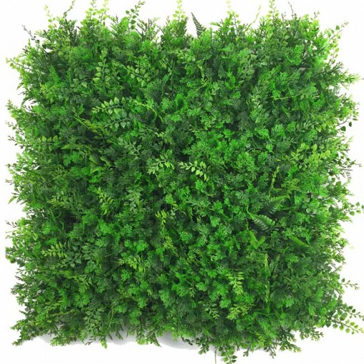 Siepe Artificiale SMALL JUNGLE Cm 50x50 In Mattonelle