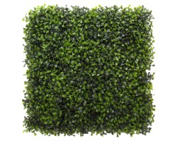 Siepe Artificiale BOXWOOD cm 50x50 in Mattonelle