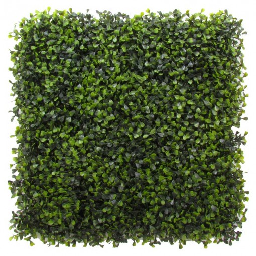 Siepe Artificiale BOXWOOD cm 100x100 in mattonelle