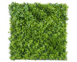 Greenwall Low Cost Resistente ai raggi UV - Mix Green - cm. 100x100