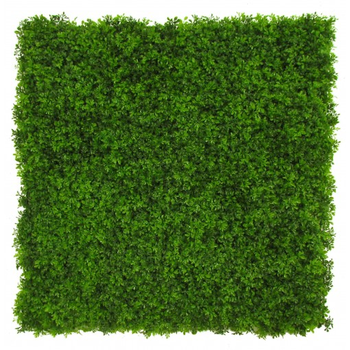 Siepe Artificiale BOXWOOD SMALL LEAVES cm 50x50 in Mattonelle