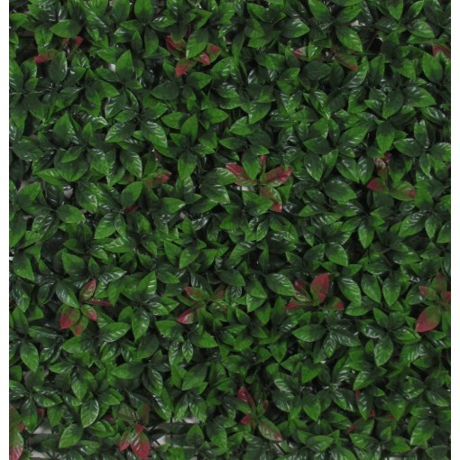 Siepe Artificiale PHOTINIA cm 50x50 in mattonelle