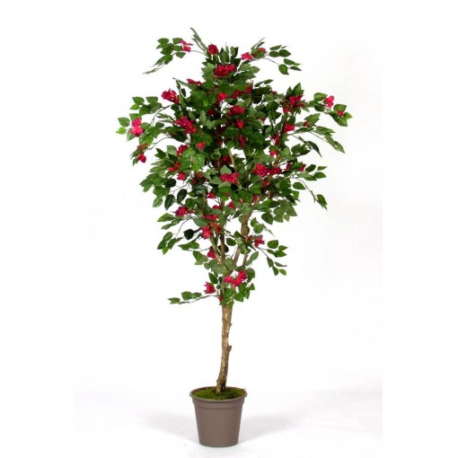 Bouganville Artificiale con fiori rossi New Garden - in varie Altezze da cm. 150 a cm. 210