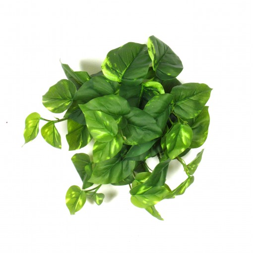 Pothos artificiale Mini, ramo con 42 Foglie