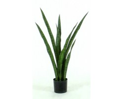 Sanseveria Artificiale Small Verde H. 78 Cm.